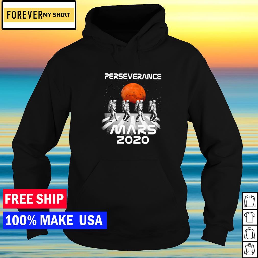 Astronaut Abbey Road perseverance mars 2020 s hoodie