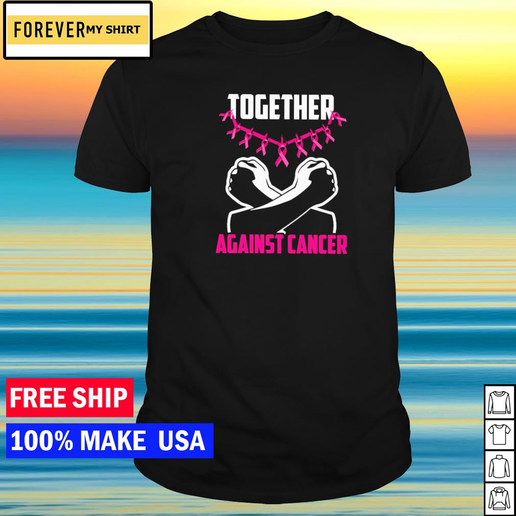 Black Panther Wakanda Forever together against cancer shirt