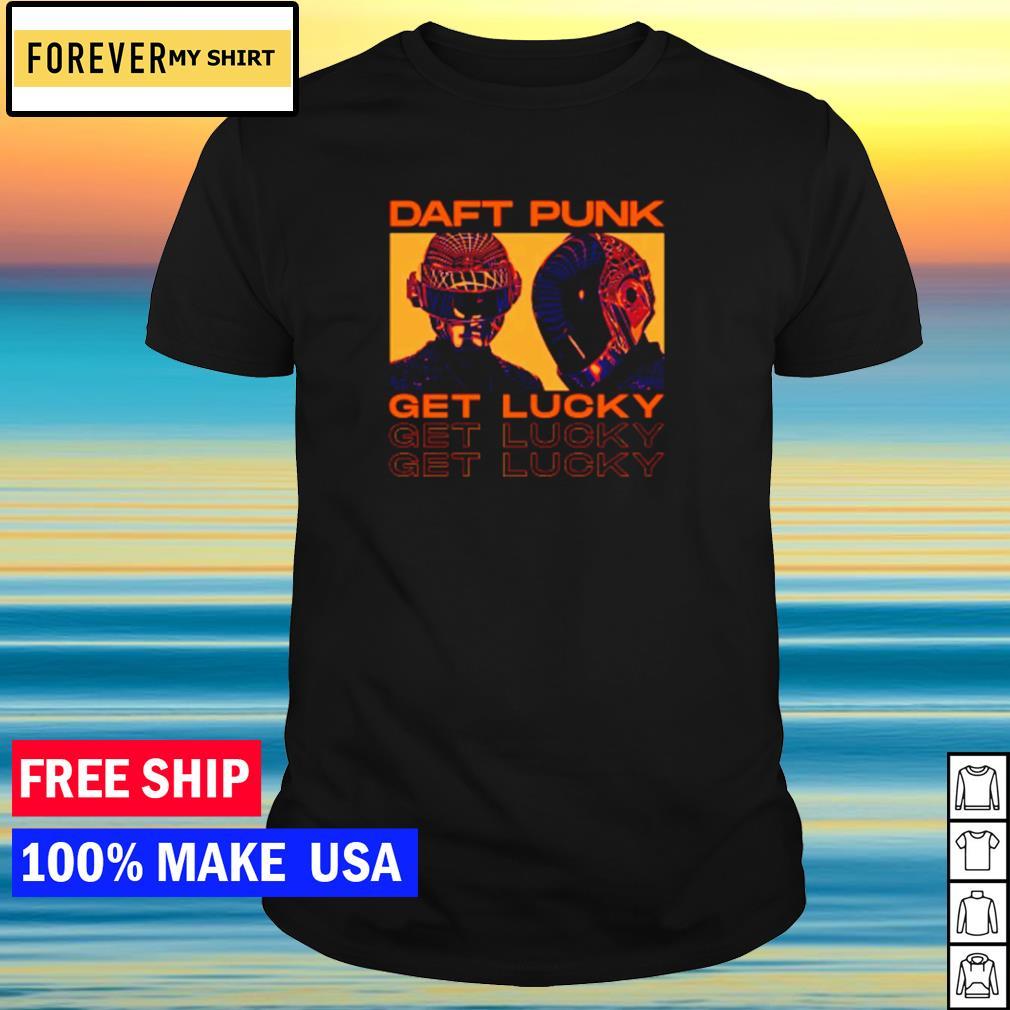 Daft Punk get lucky shirt
