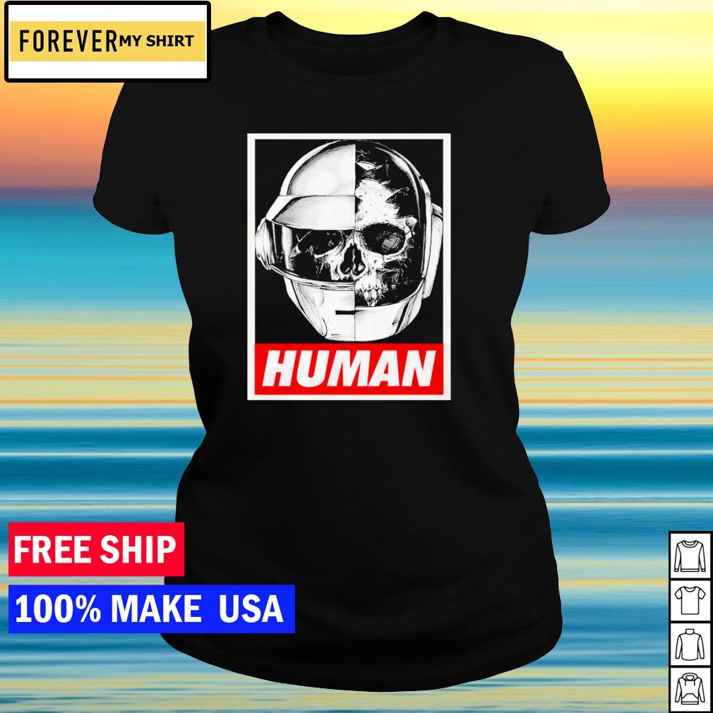 Daft Punk helmet human s ladies tee