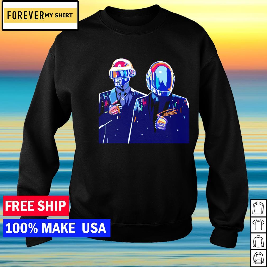 Daft Punk signature s sweater