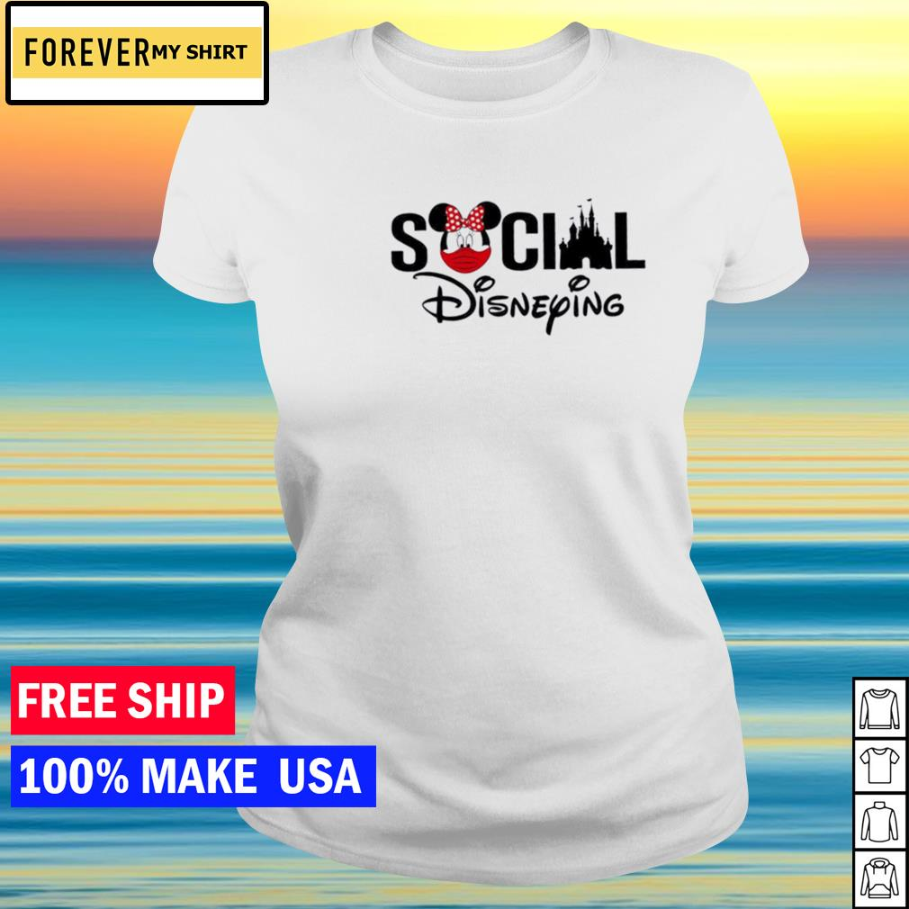 Disney social disneying s ladies tee