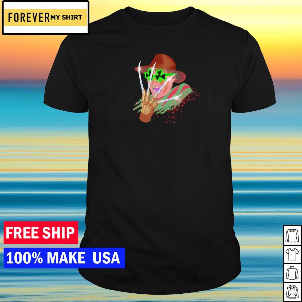 Freddy Krueger happy St Patrick's Day shirt