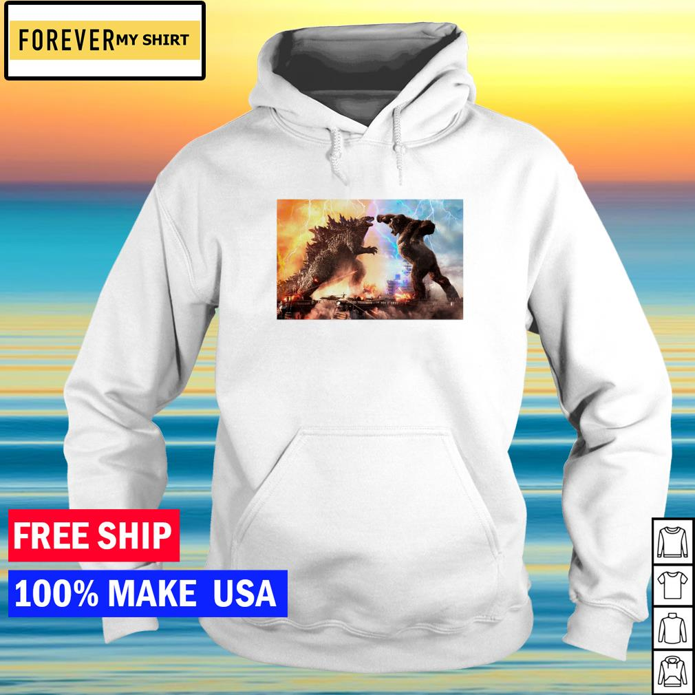 Godzilla vs King Kong 2021 funny s hoodie