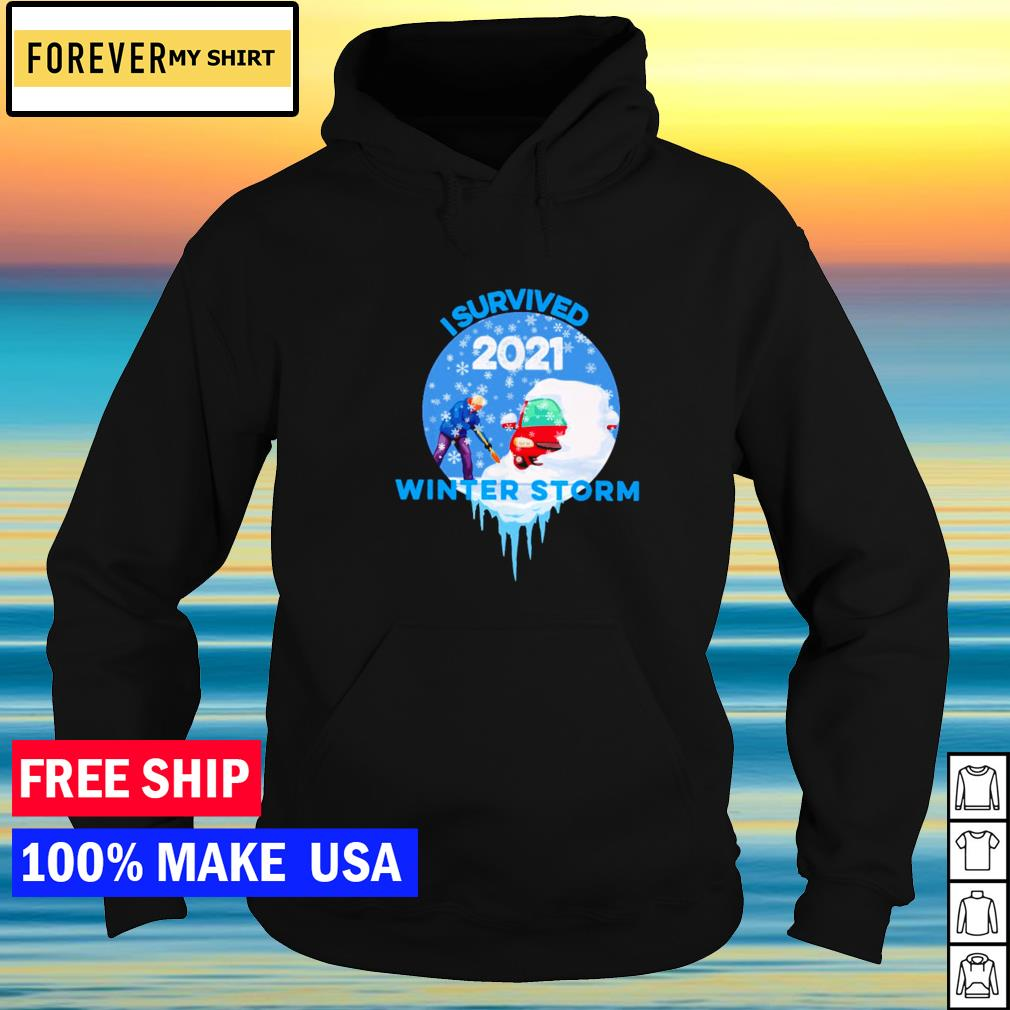 I survived 2021 winter storm s hoodie