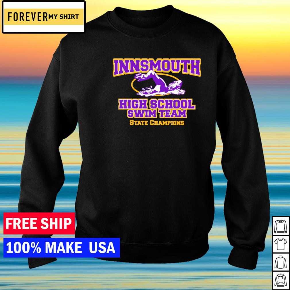 Innsmouth high school swim team State Champion s sweater