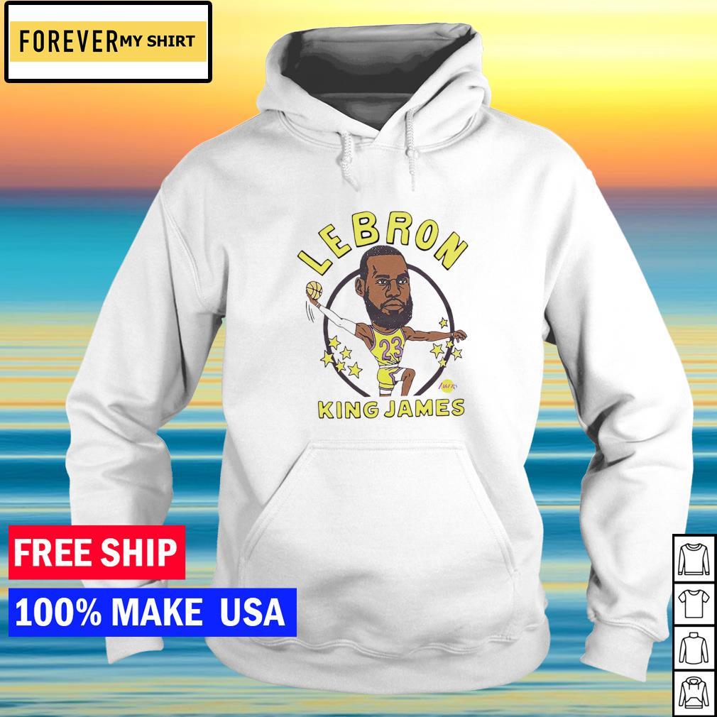 Los Angeles Lakers Lebron King James s hoodie