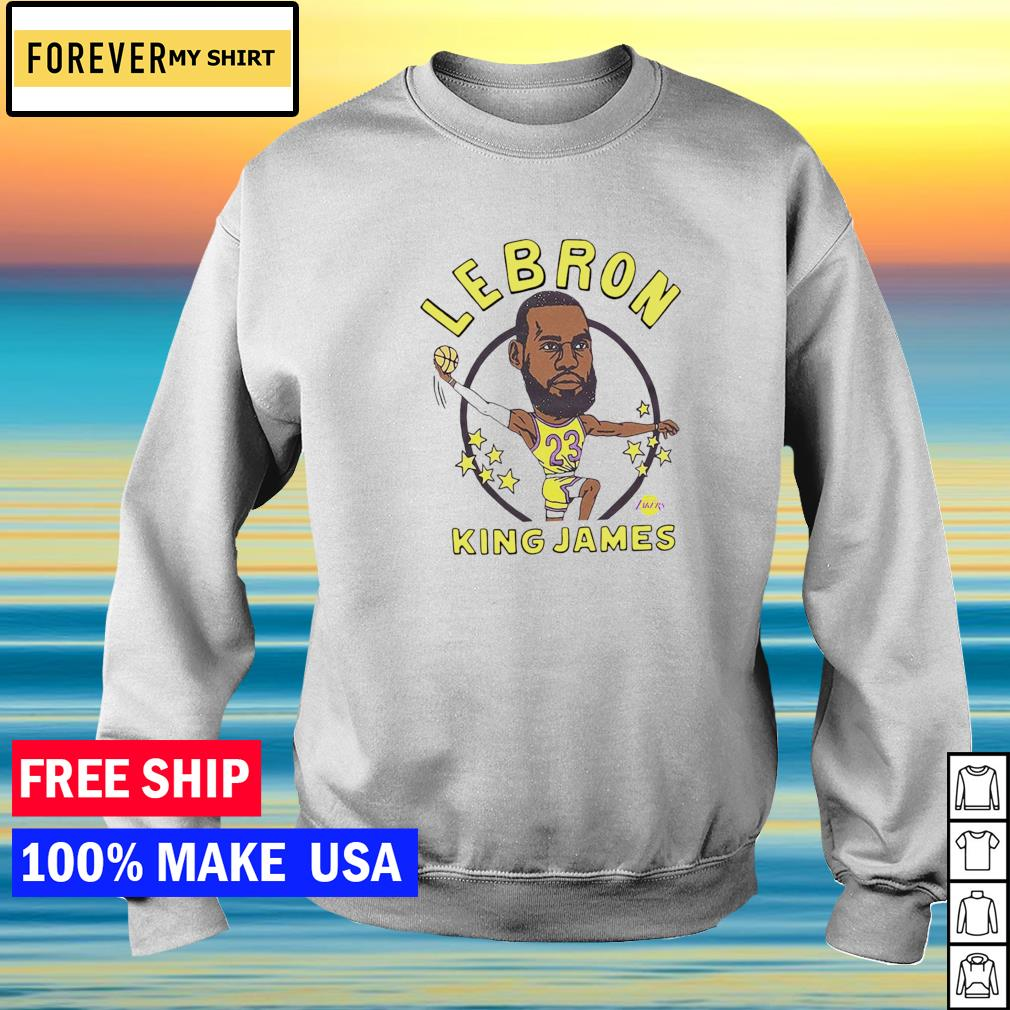 Los Angeles Lakers Lebron King James s sweater