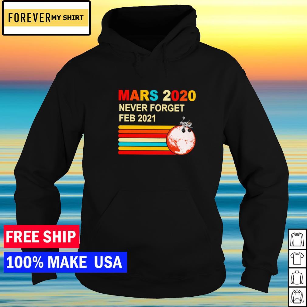 Mars 2020 never forget feb 2021 vintage s hoodie