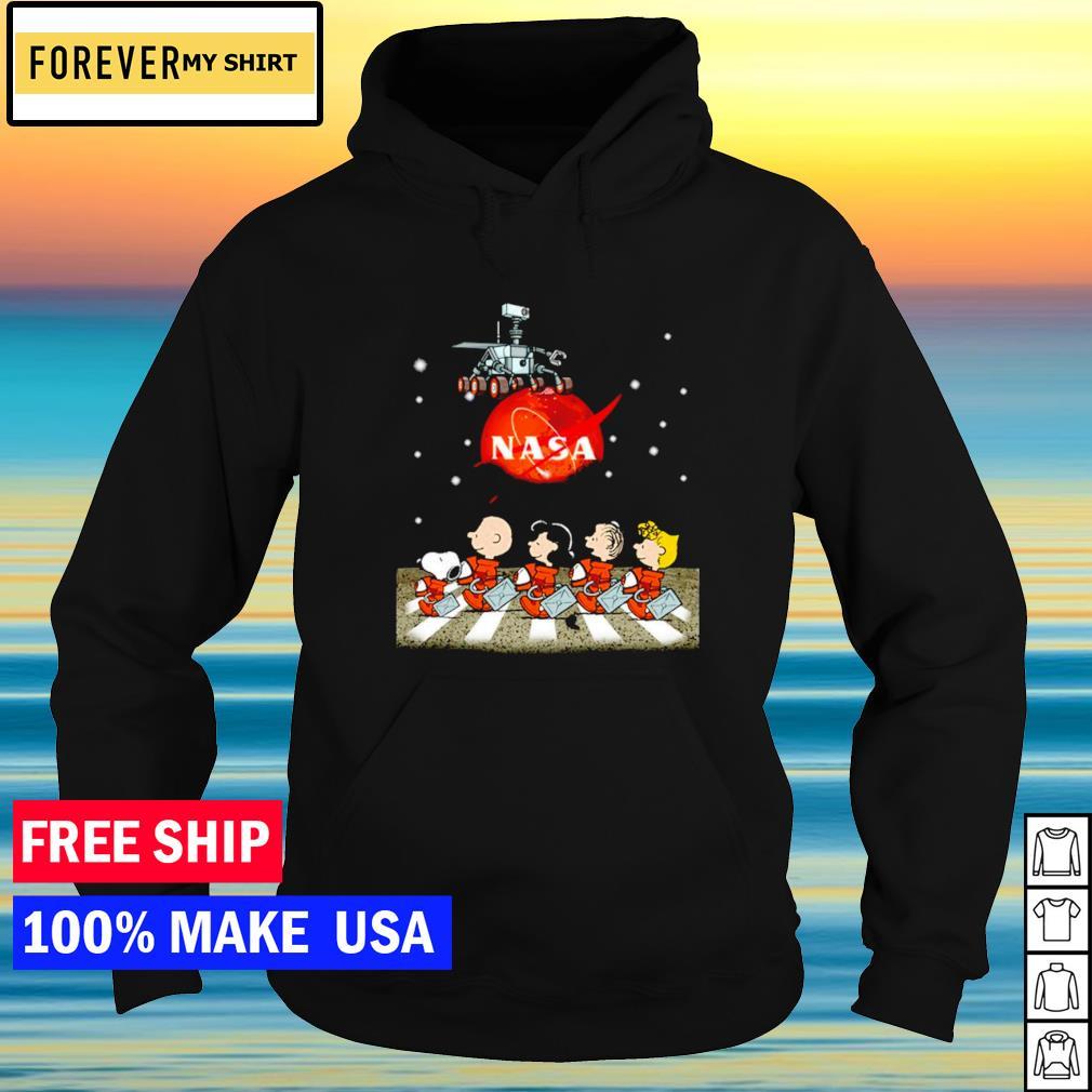 Nasa Mars perseverance Snoopy Abbey Road s hoodie