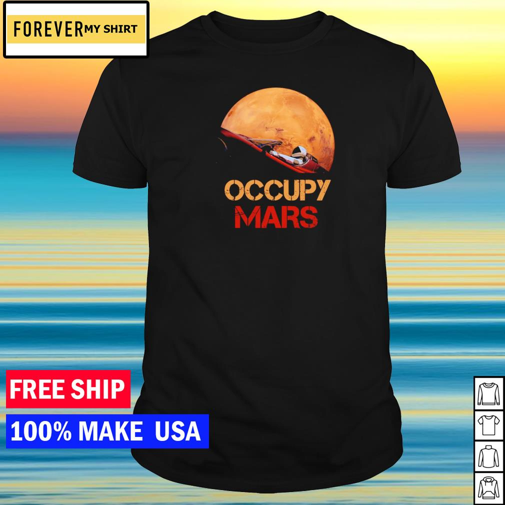 NASA Occupy Mars 2020 shirt