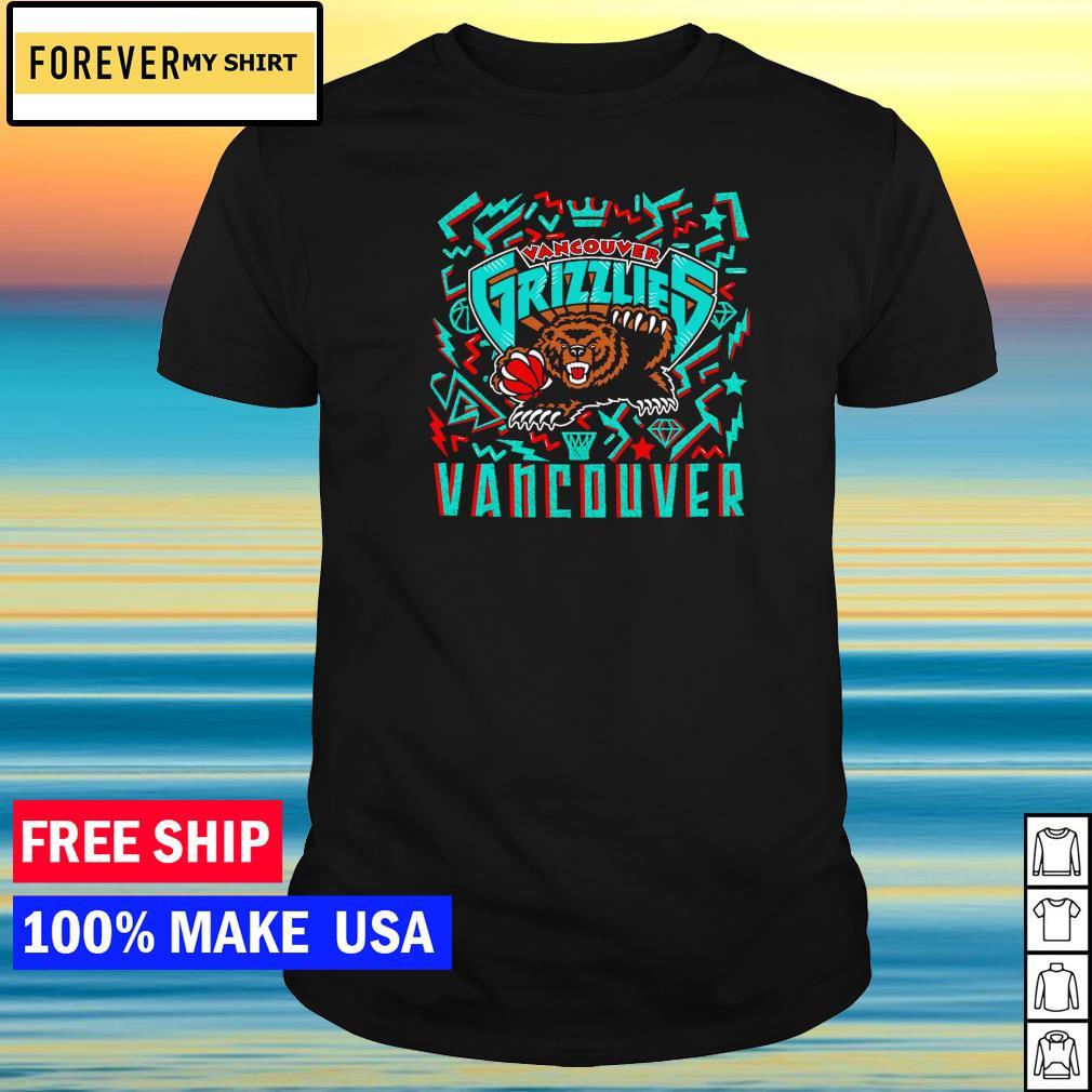 Vancouver Grizzlies NBA logo team shirt