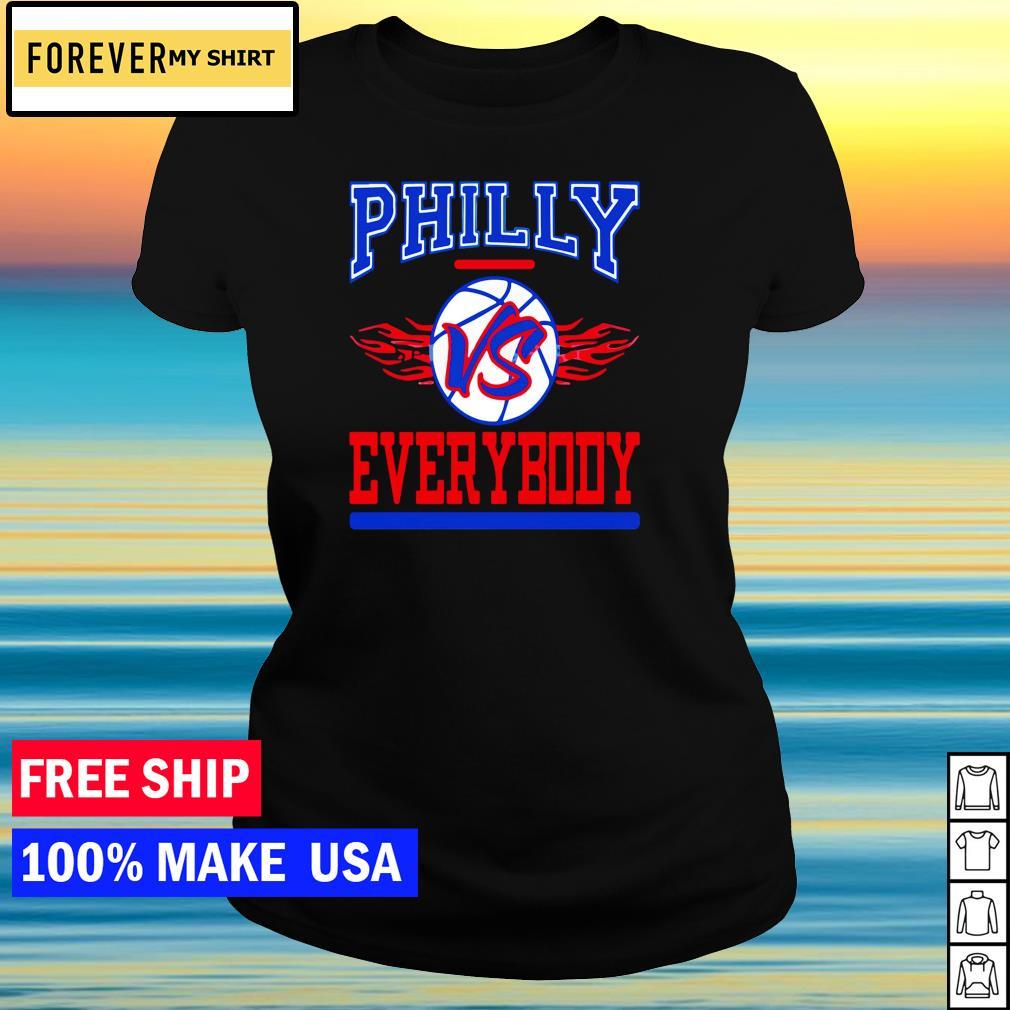 Philadelphia Phillies vs everybody MLB s ladies tee