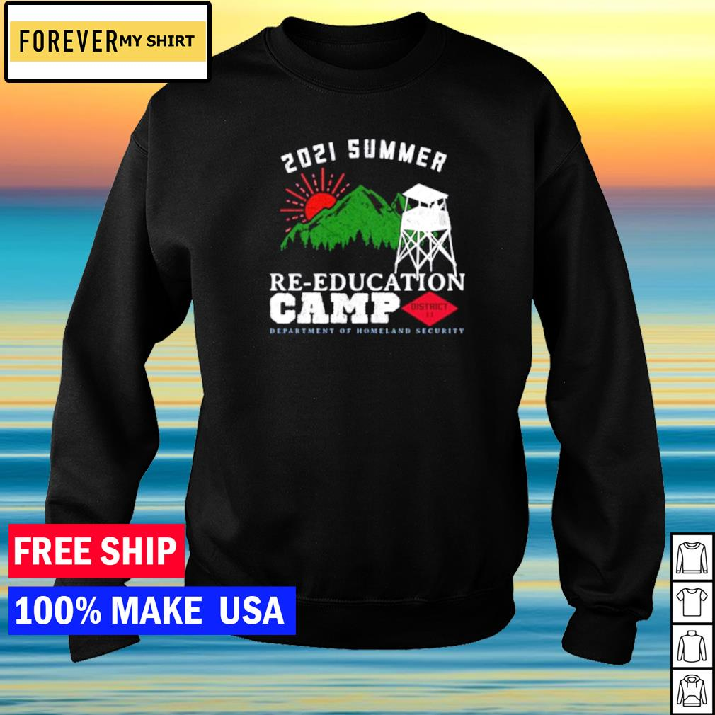 2021 Summer Re-education Camp s sweater