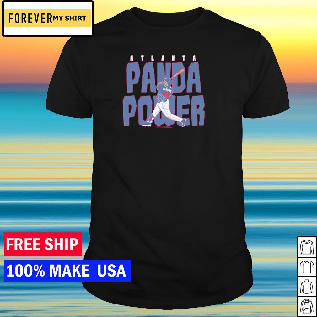 Atlanta Braves Pablo Sandoval Panda Power shirt
