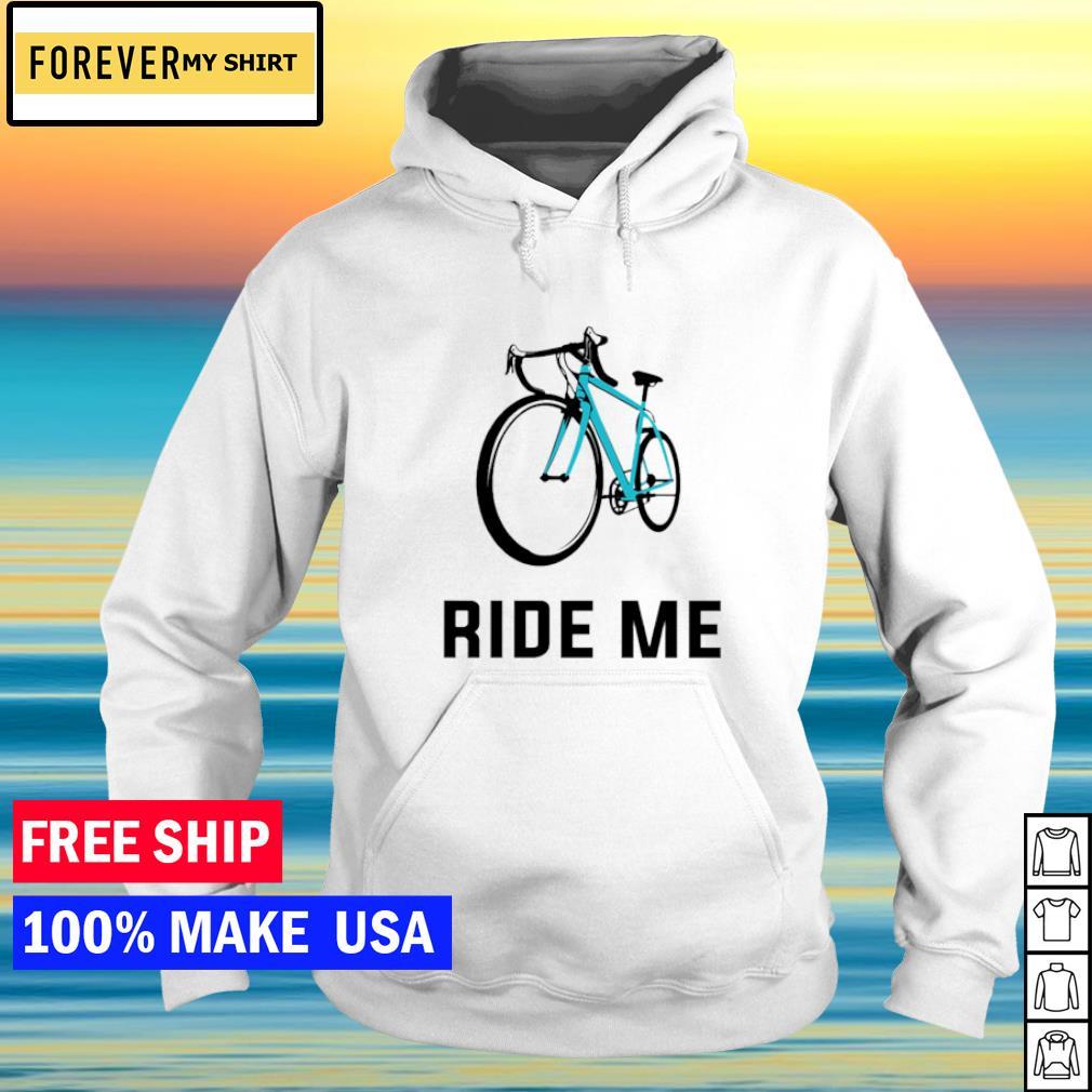 Bicycle ride me s hoodie