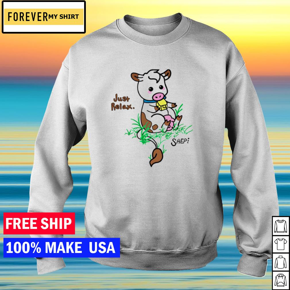 Philanthropy Cow just relax s sweater