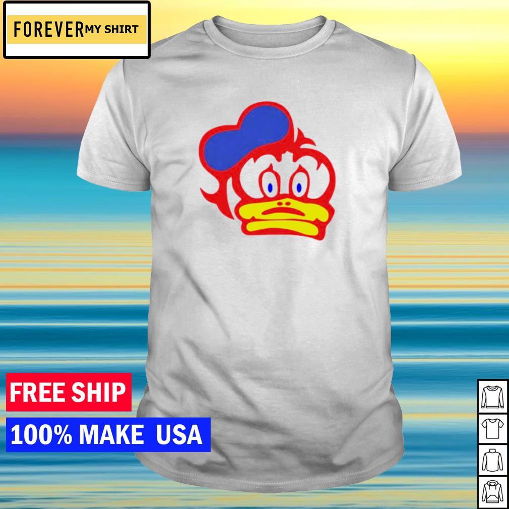 Sheene Duck Helmet Logo shirt