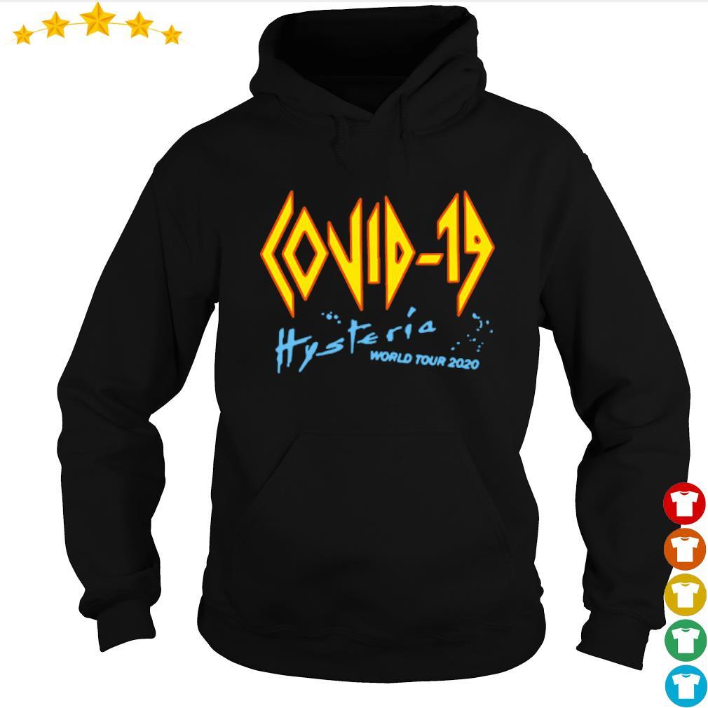 Coronavirus Covid-19 Hysteria world tour 2020 s hoodie