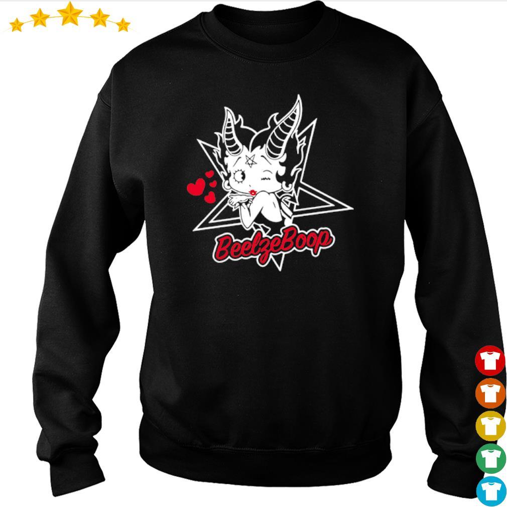 Satan girl Beelzeboop s sweater