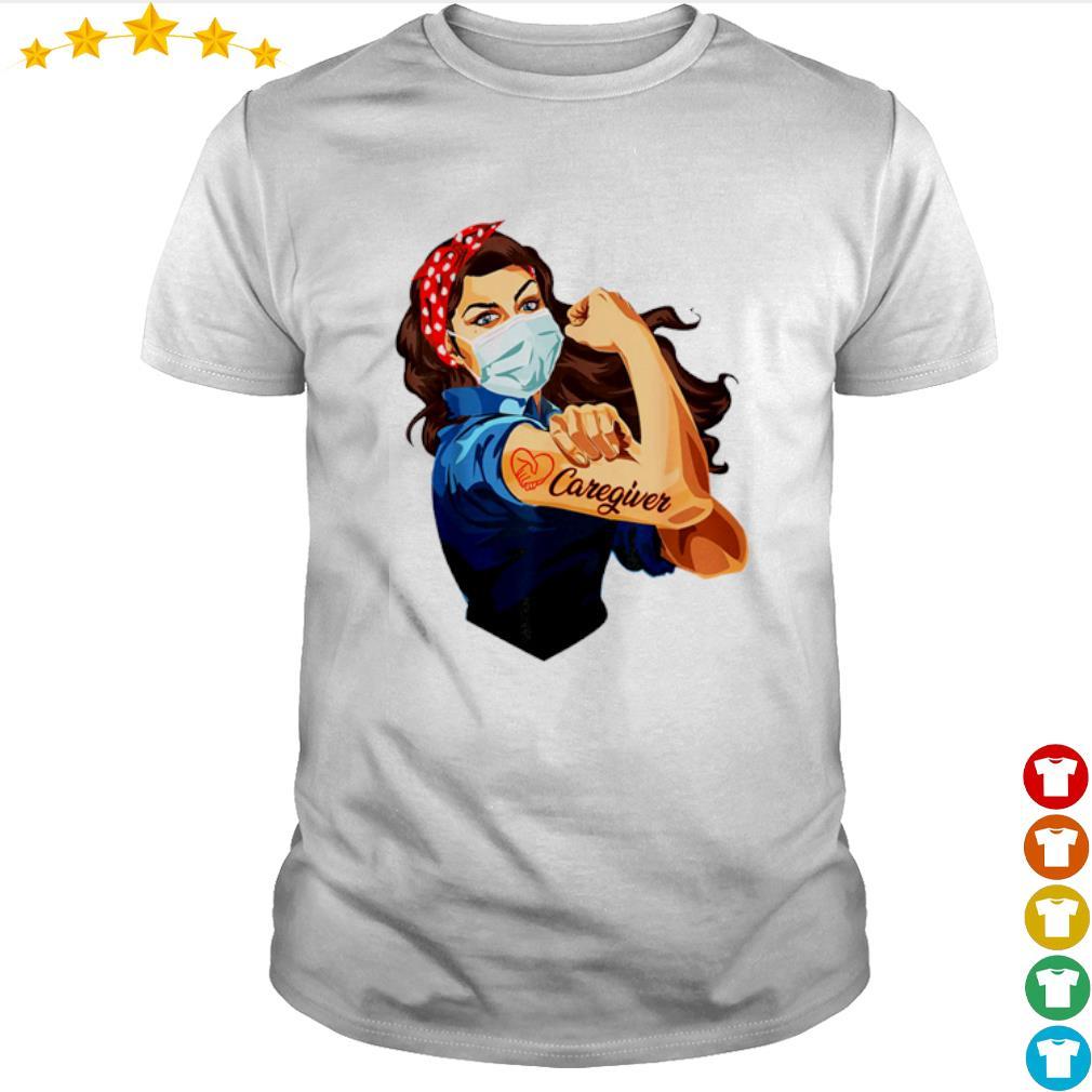 Strong girl proud Caregiver shirt