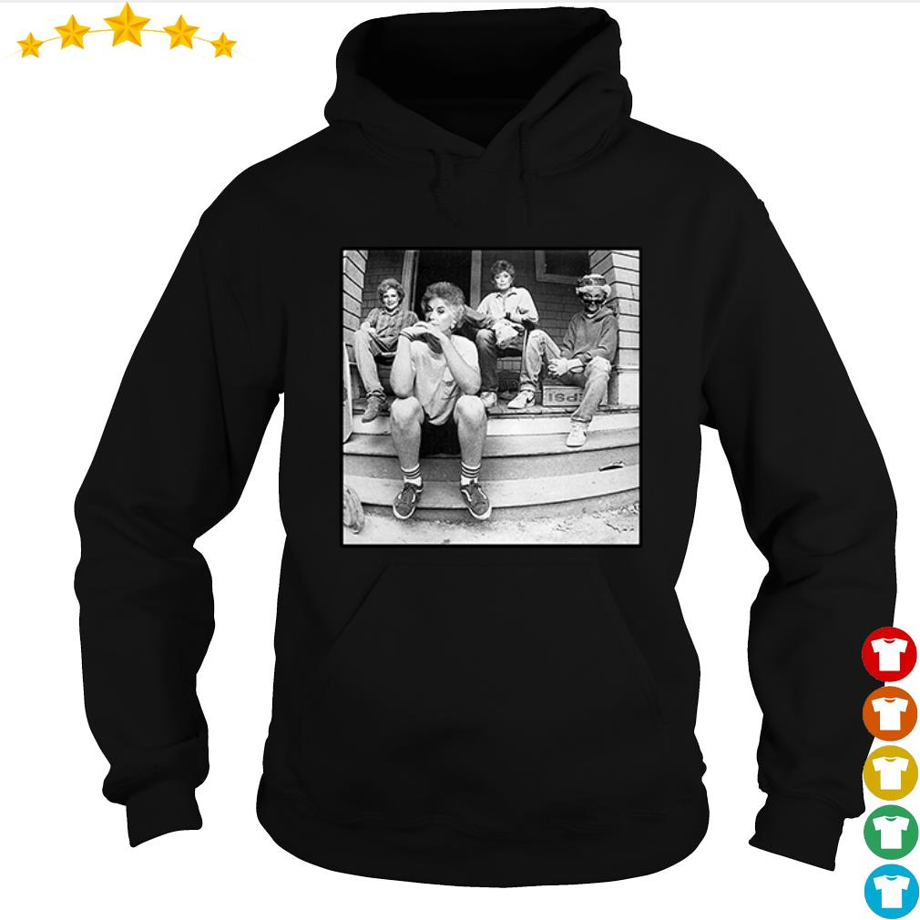 The Golden Girl sitting here s hoodie