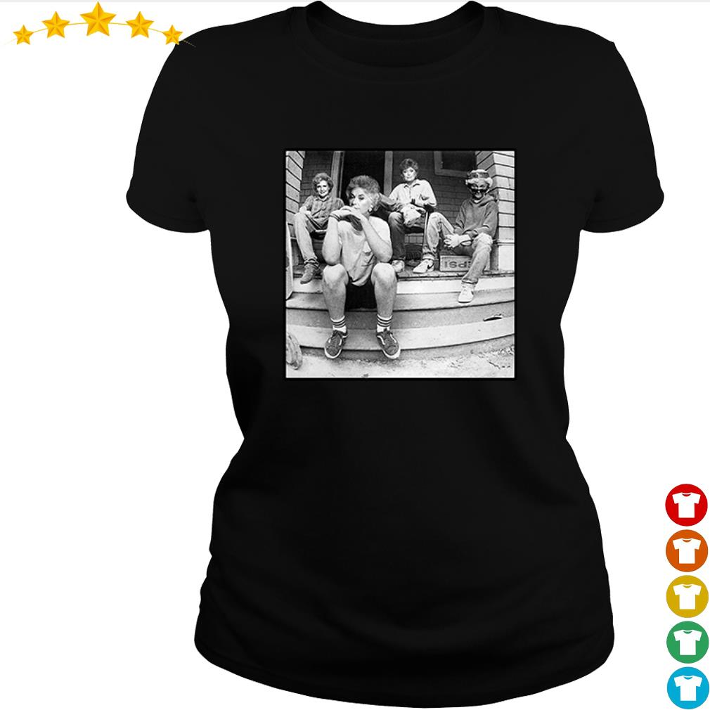 The Golden Girl sitting here s ladies-tee