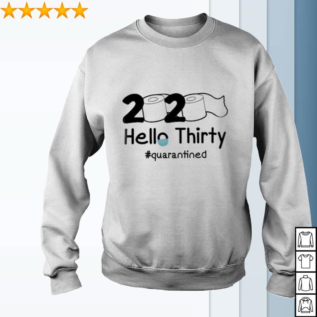 2020 Hello Thirty quarantined s sweater