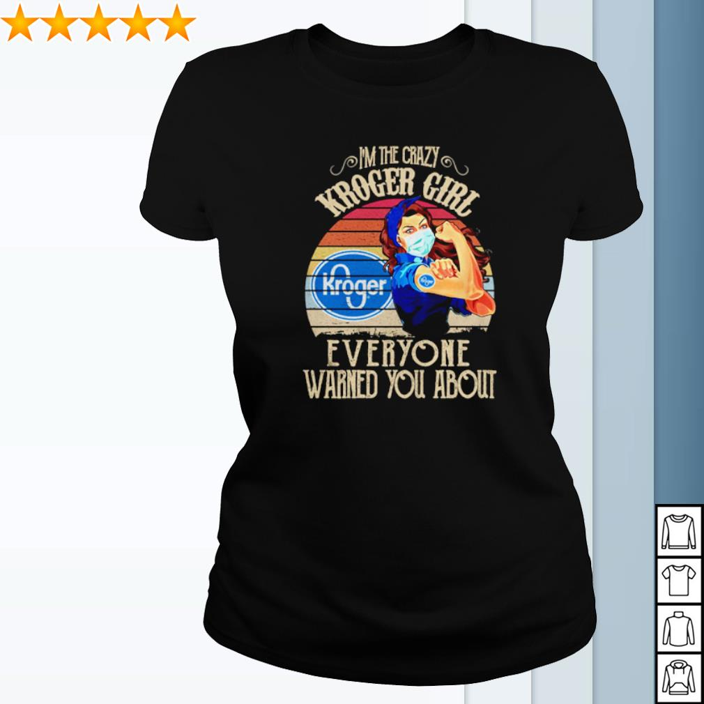 I'm the crazy Knoger Girl everyone warned you about vintage s ladies-tee