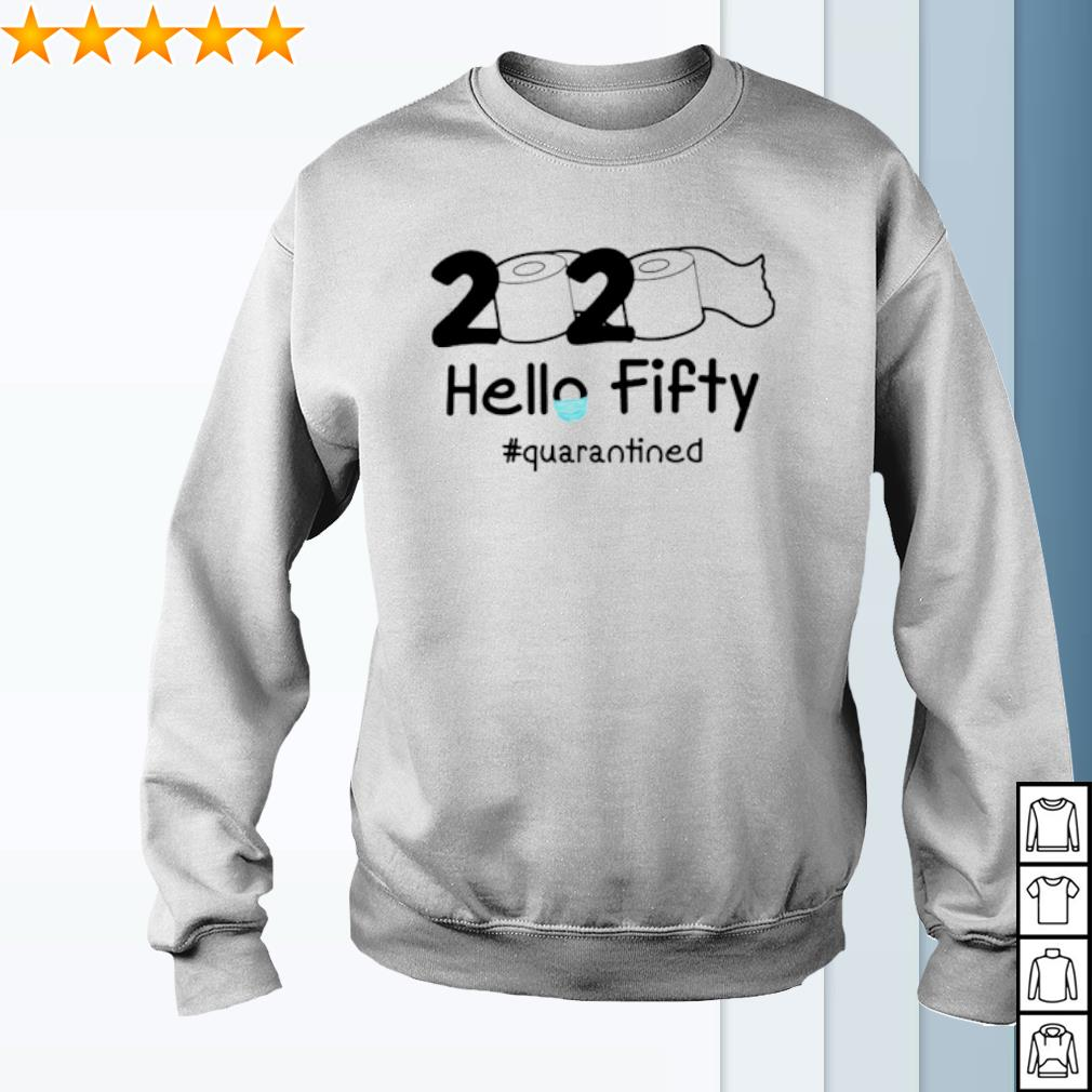 Toilet Paper 2020 hello Fifty quarantined s sweater