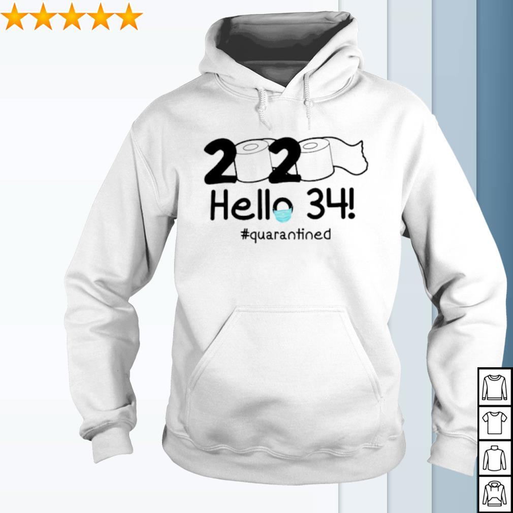 Toilet Paper hello 34 quarantined s hoodie