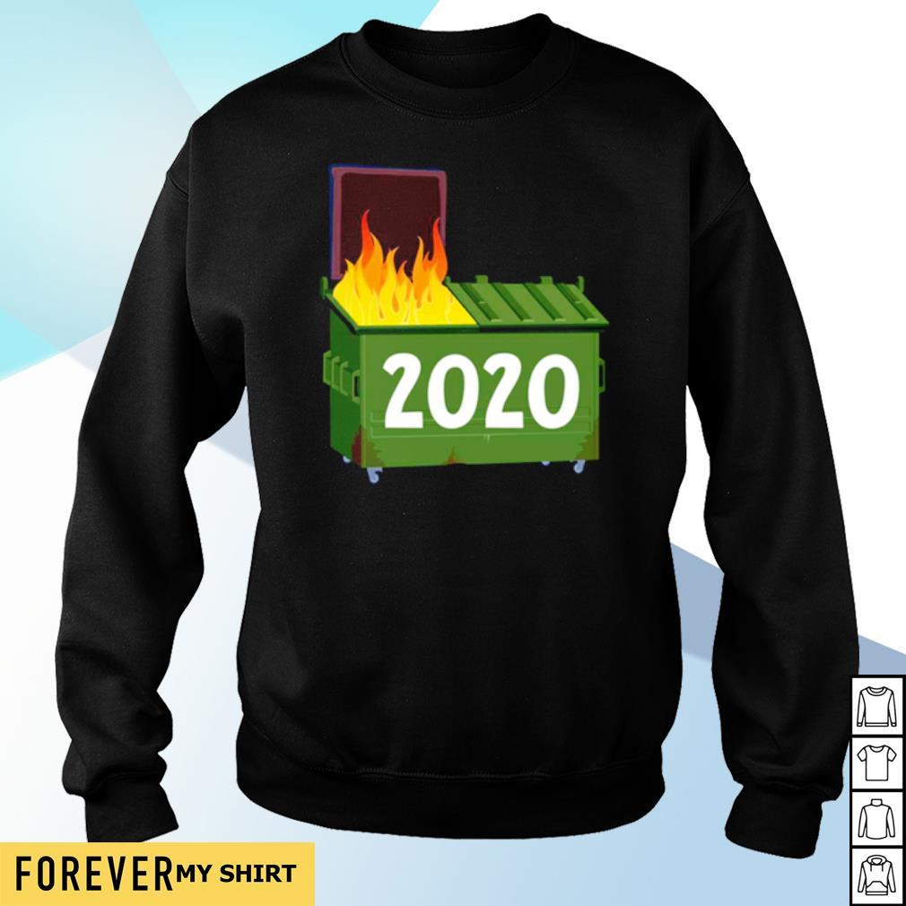 2020 Dumpster fire s sweater