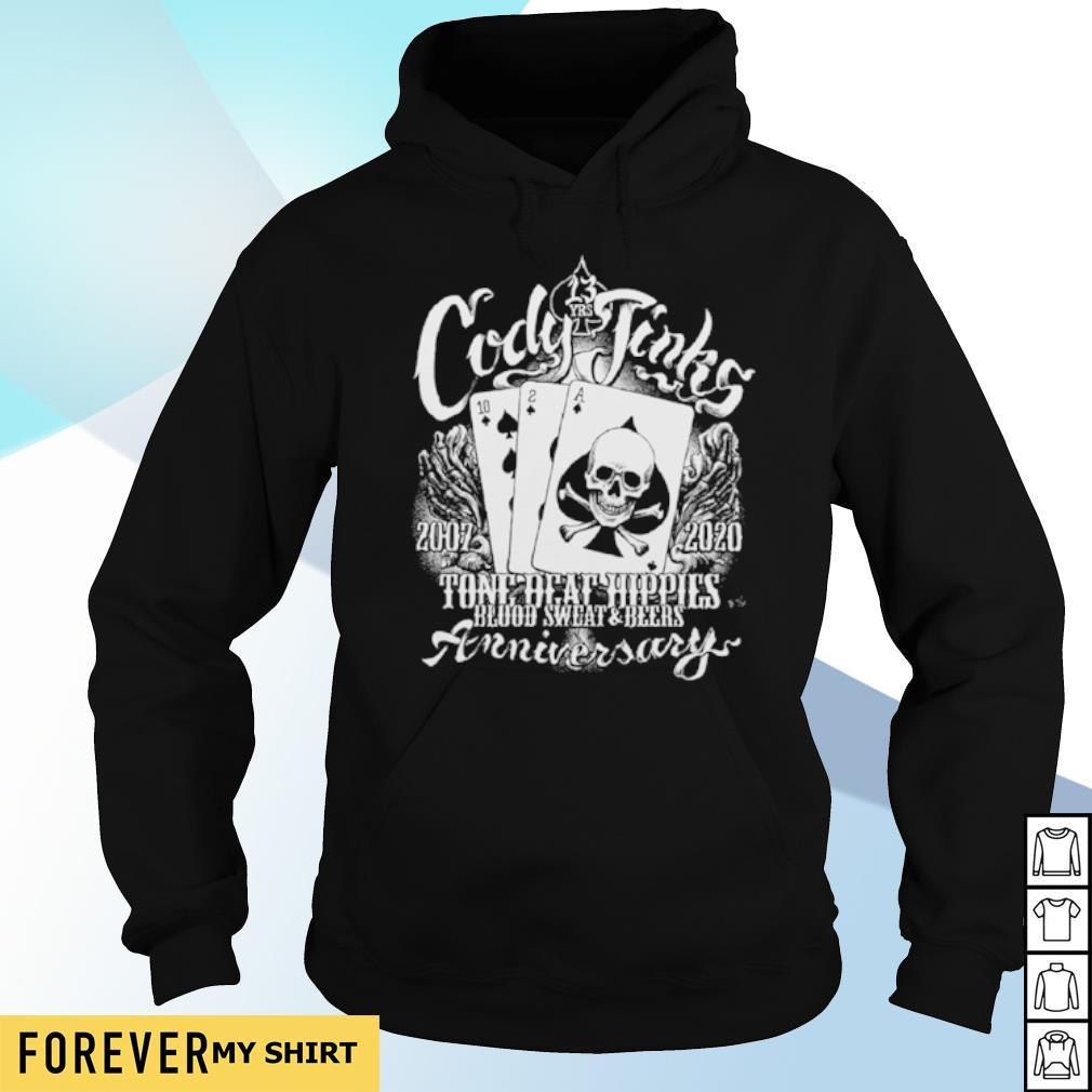 Cody Jinks 2007 2020 Tone Deaf Hippies s hoodie