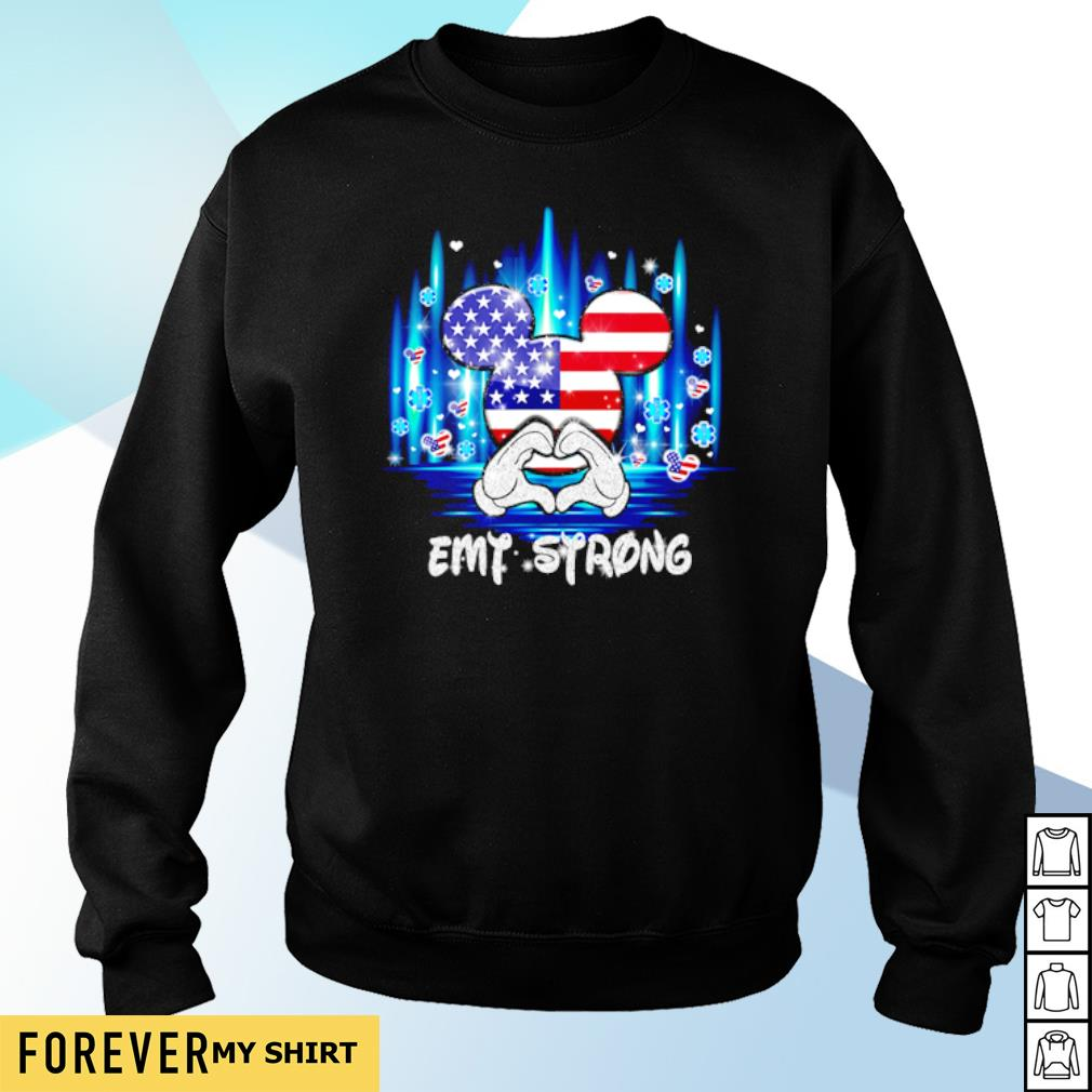 4th of July Mickey mouse EMT strong s sweater