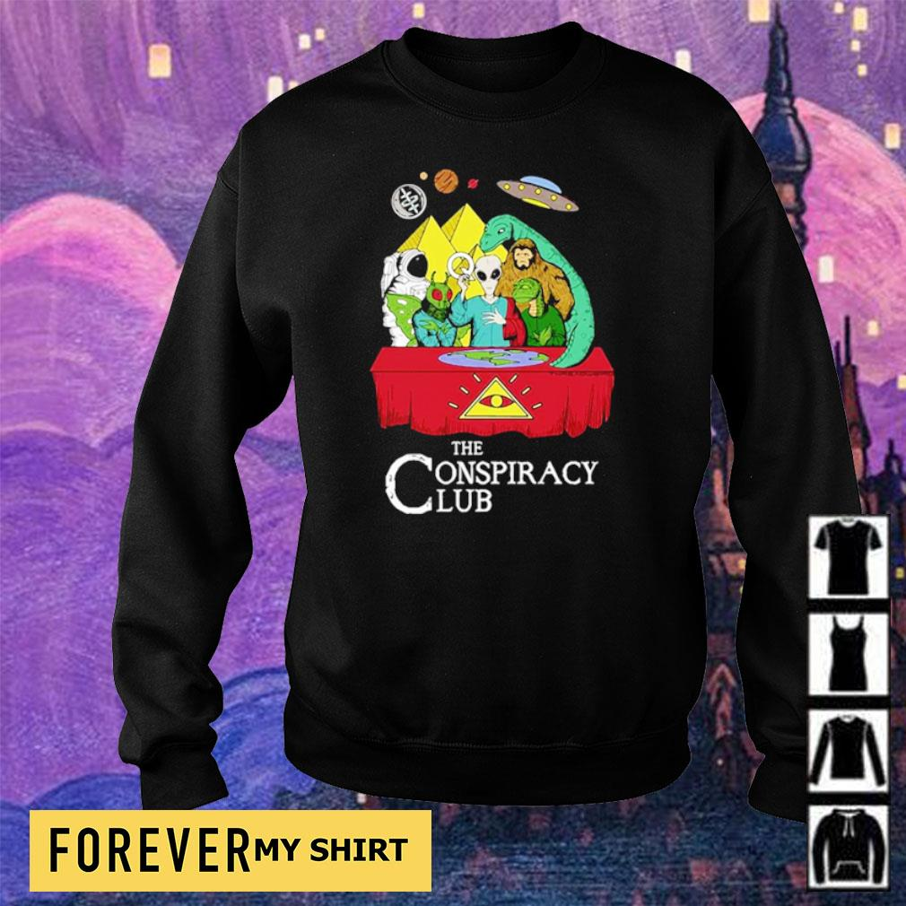 Alien the conspiracy club s sweater