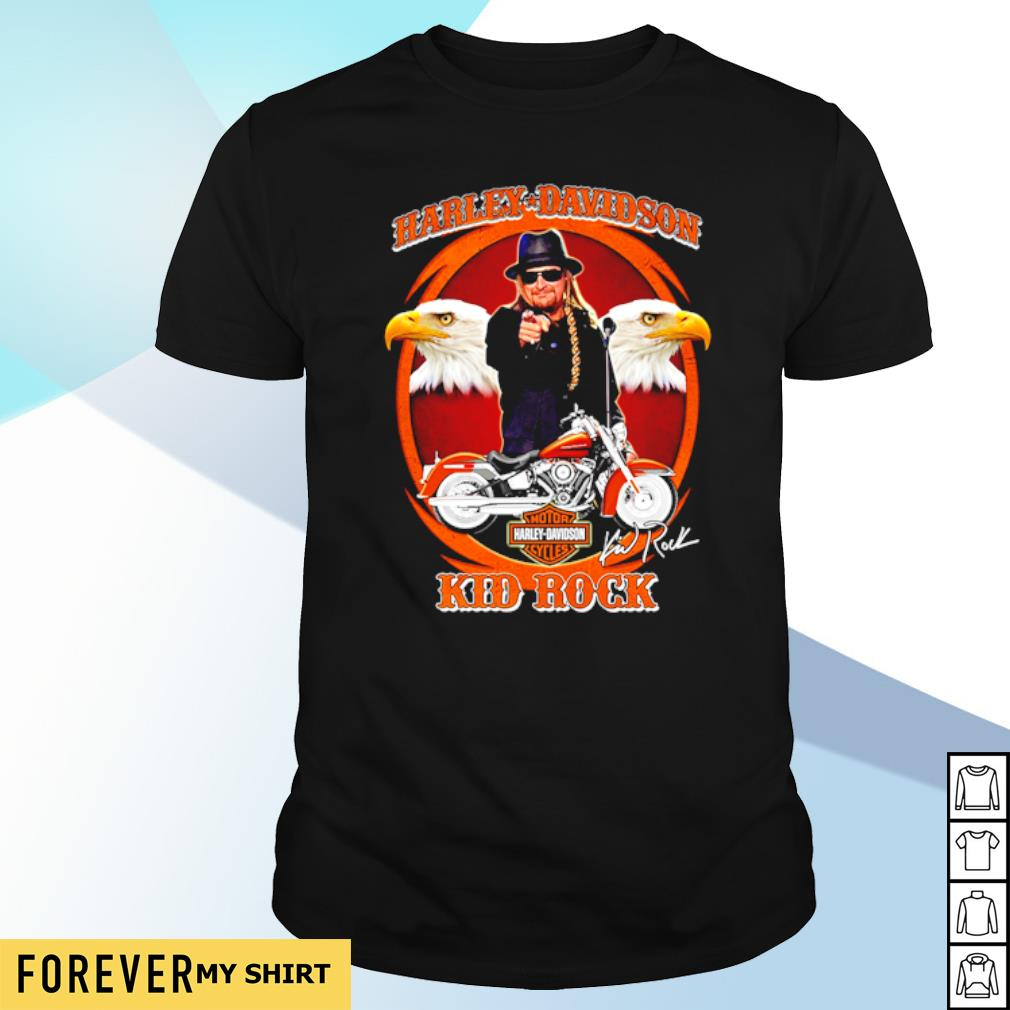 Harley Davidson Kid Rock shirt