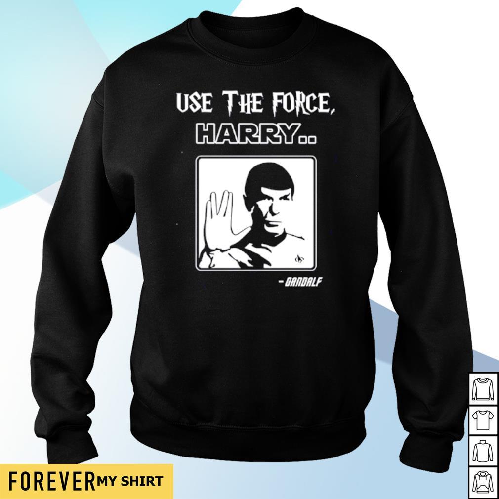 Star Trek Use The Force Harry Gandalf s sweater