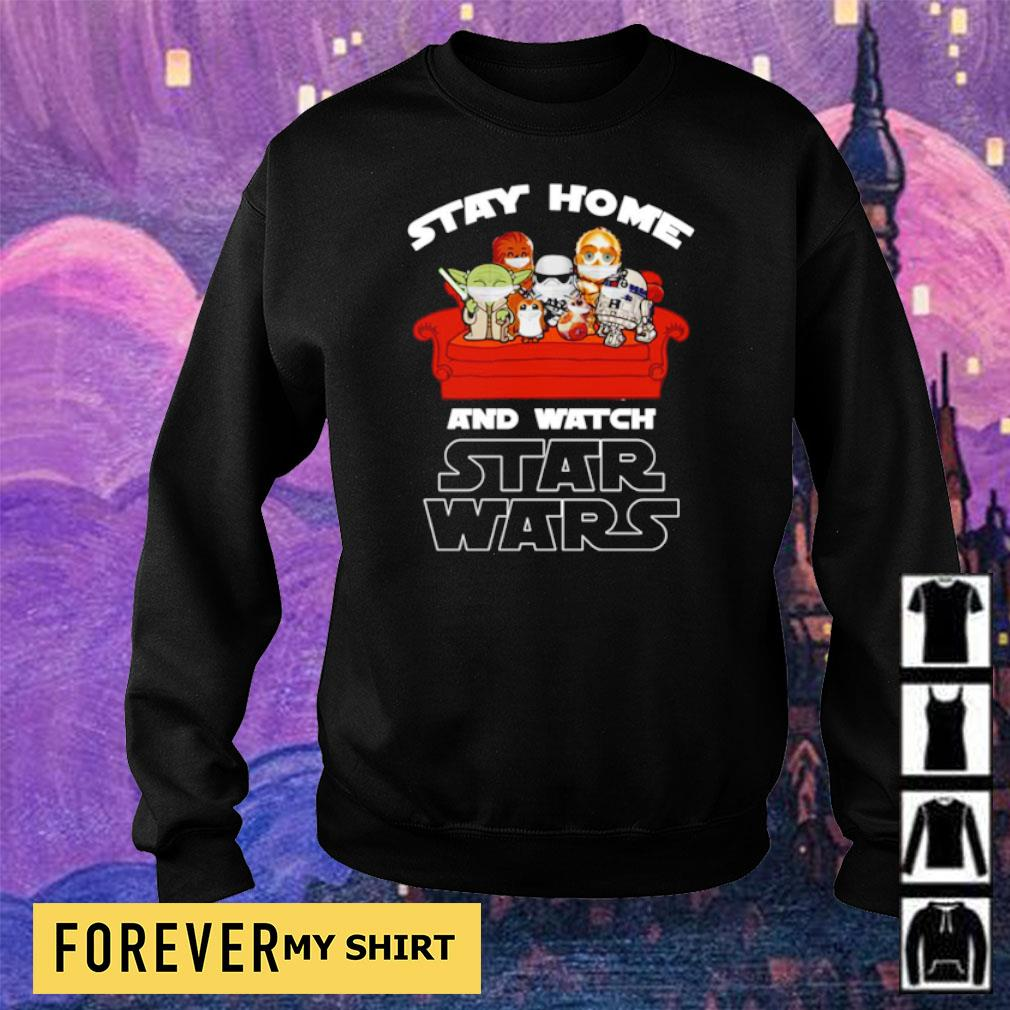 Stay at home and watch Star Wars s sweater