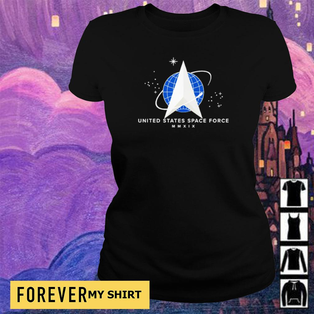 United States Space Force MMXIX s ladies tee