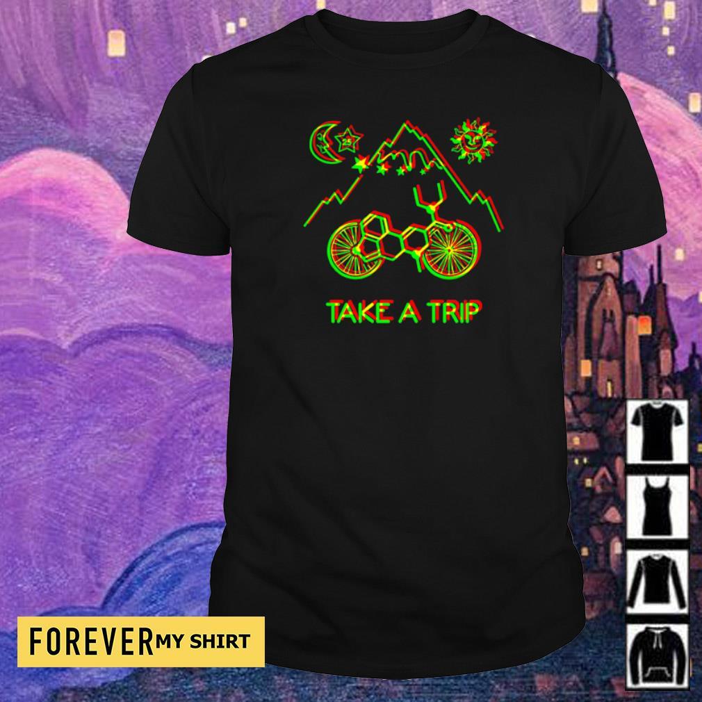 1943 Hofmann Bicycle Day Take A Trip shirt
