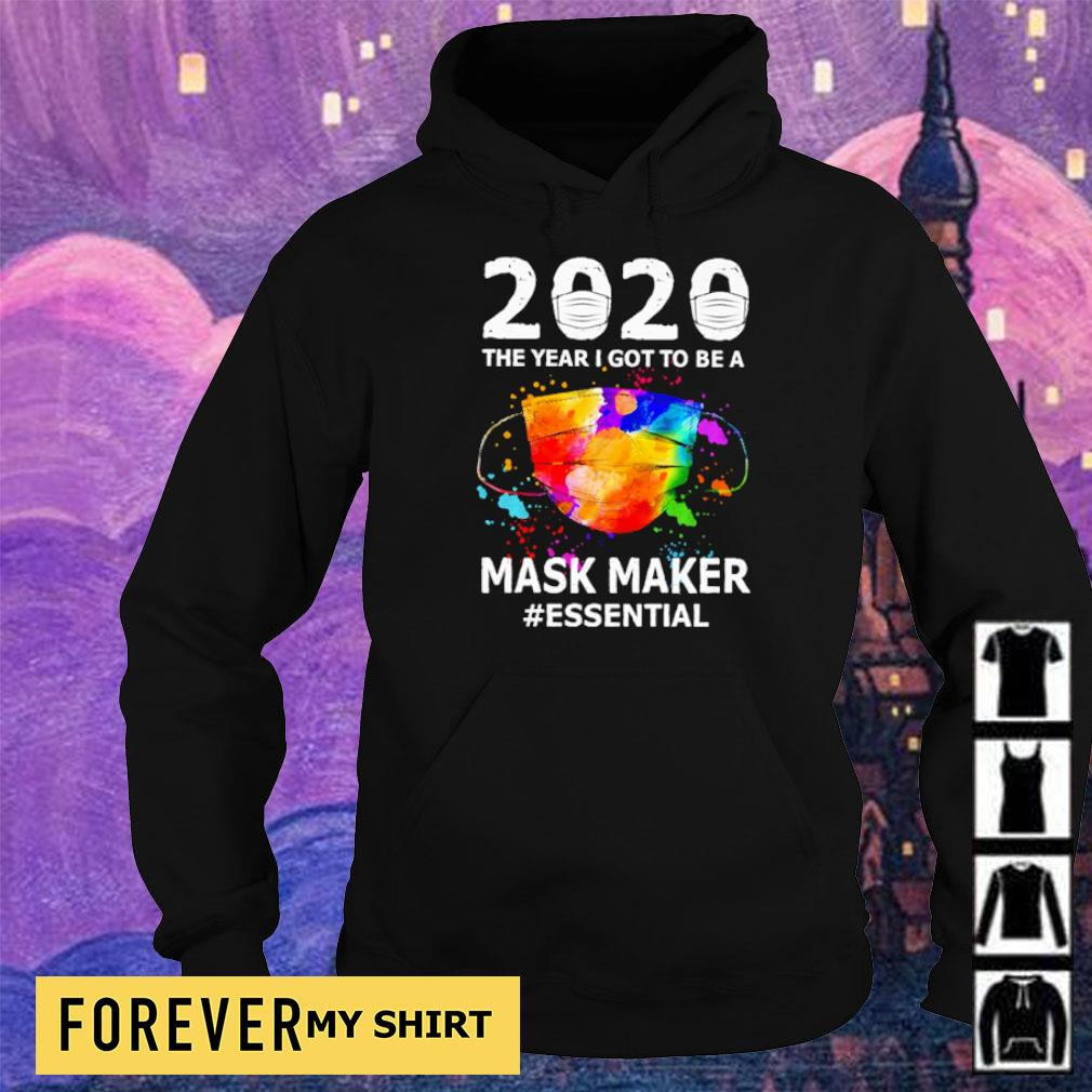 2020 the year I got to be a mask maker #essential s hoodie