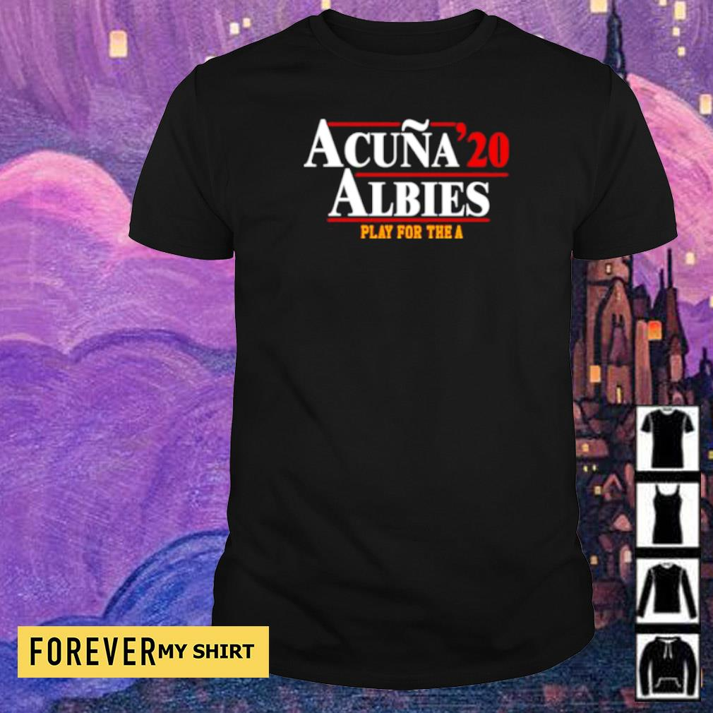 Acuna '20 Albies play for the A shirt