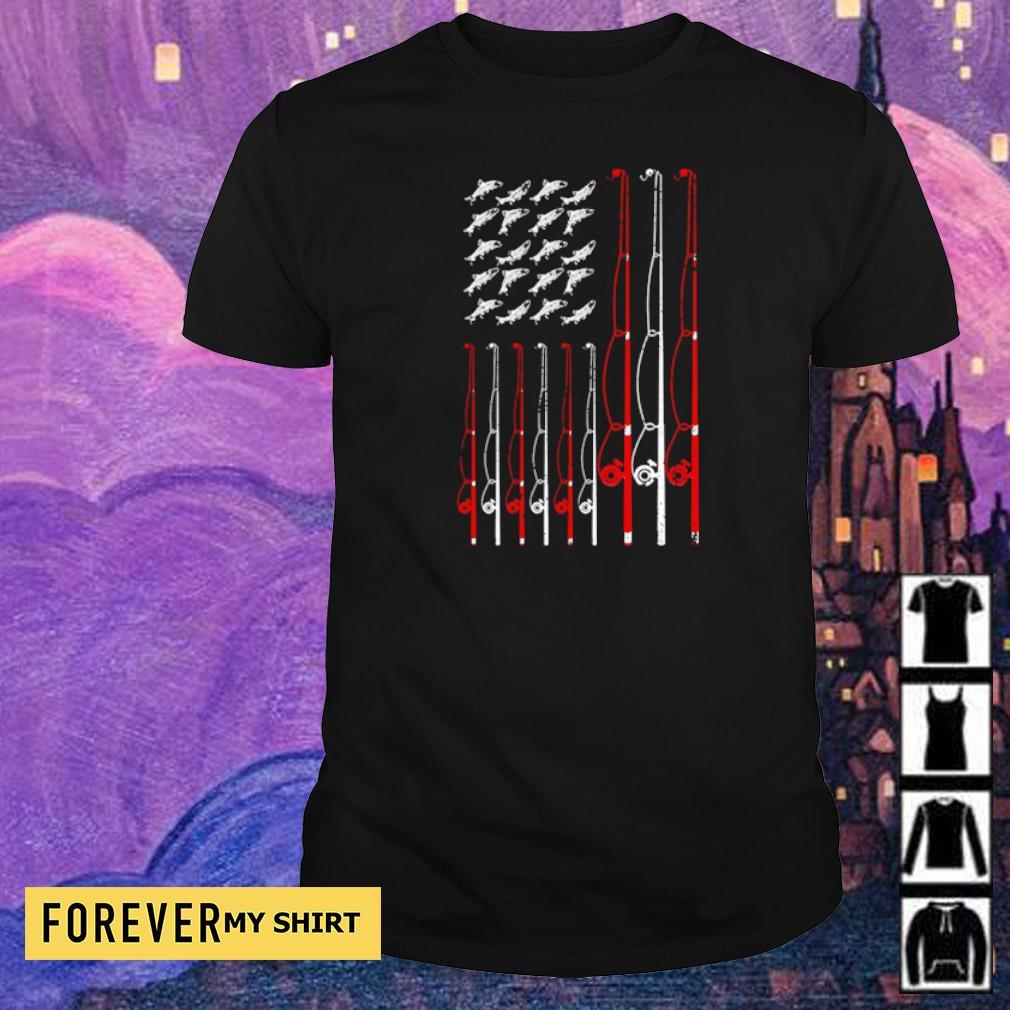 American Flag Fishing Rope shirt