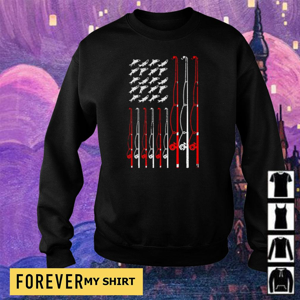 American Flag Fishing Rope s sweater