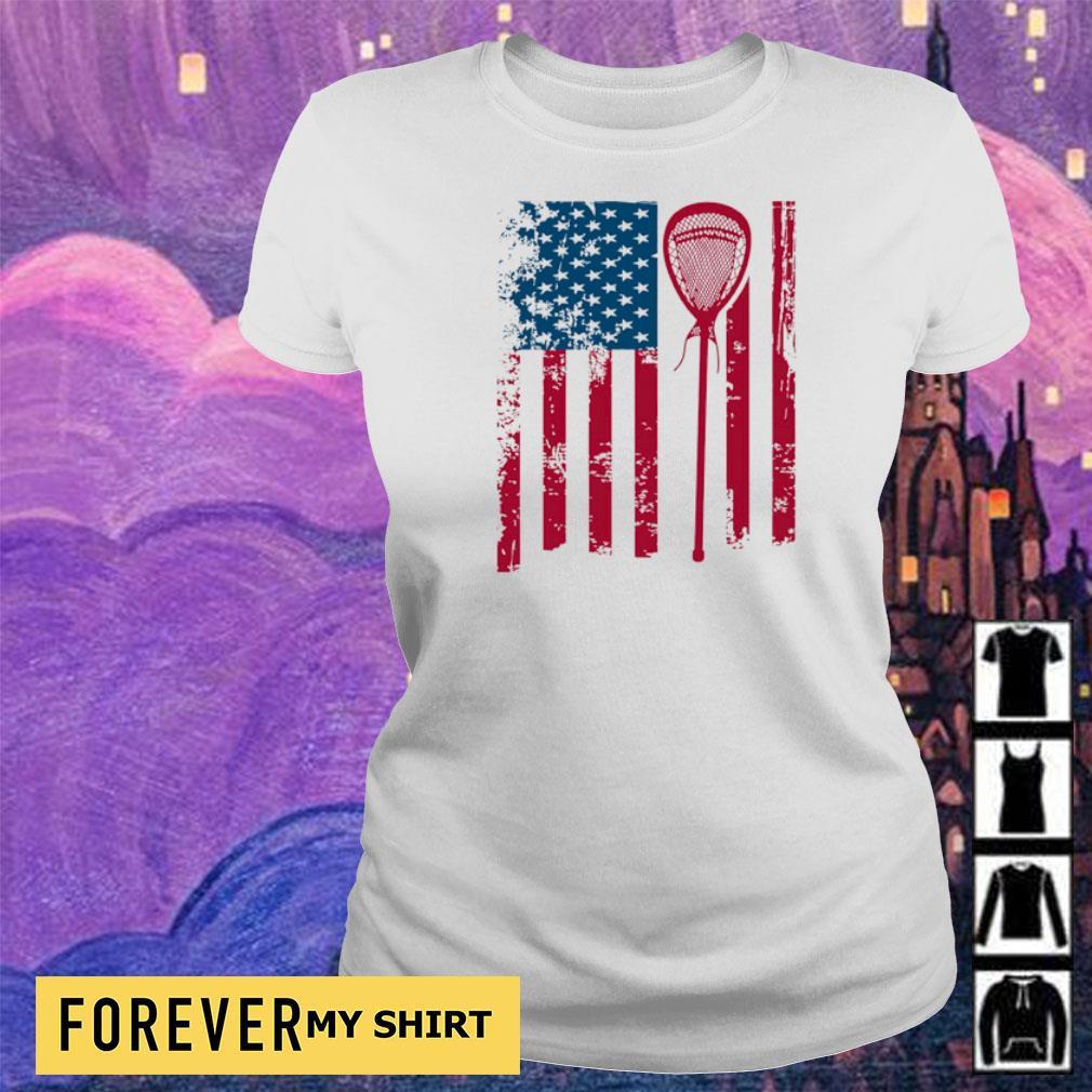 American Flag Softball s ladies