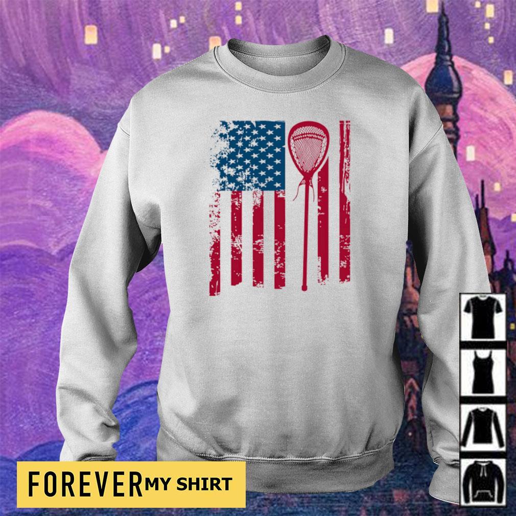 American Flag Softball s sweater