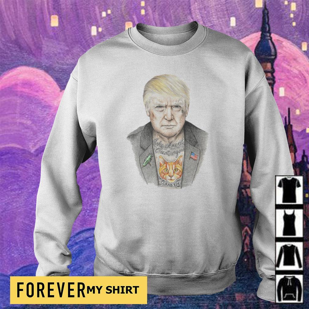 Donald Trump tattoos Make America Great Again s sweater