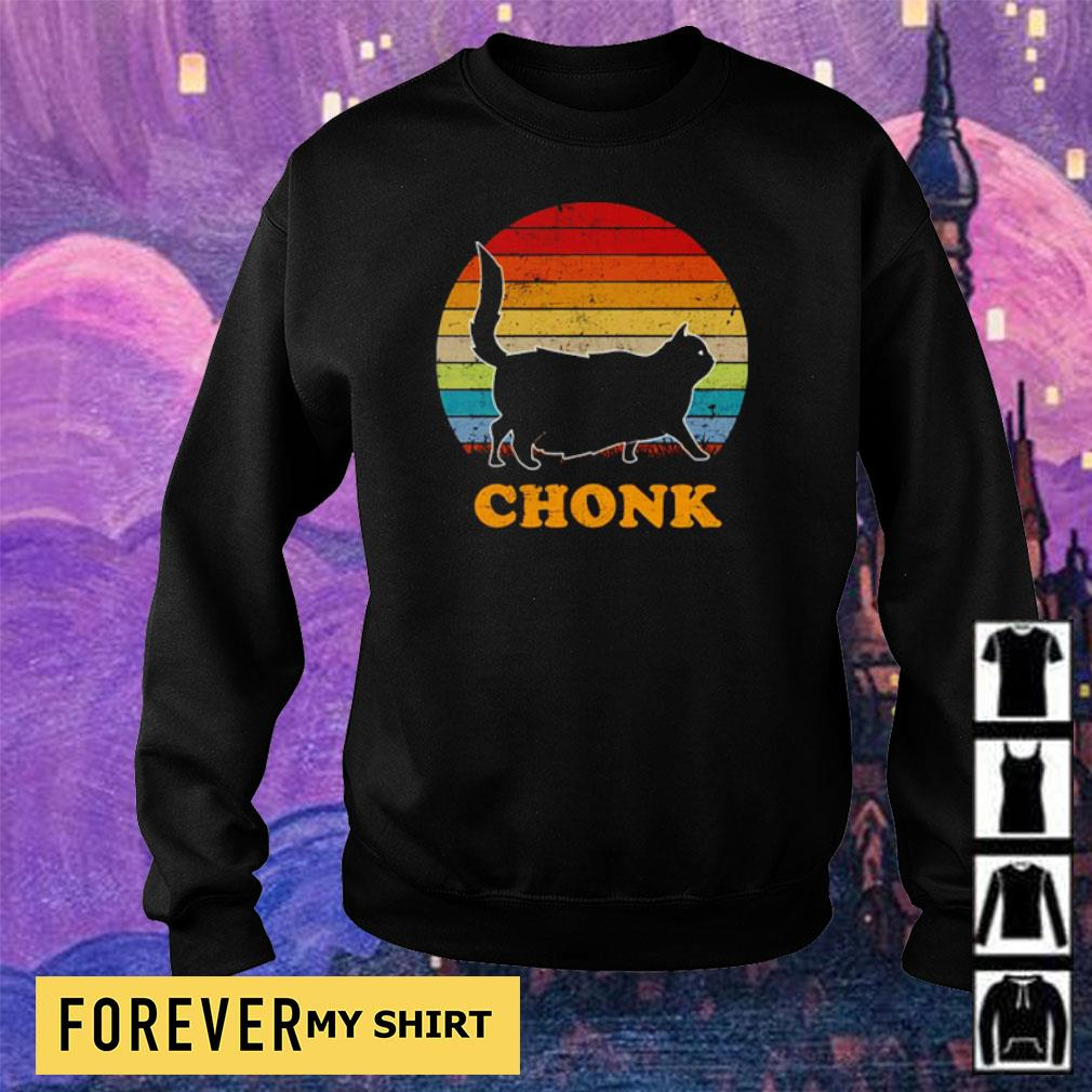Fat cat chonk vintage s sweater