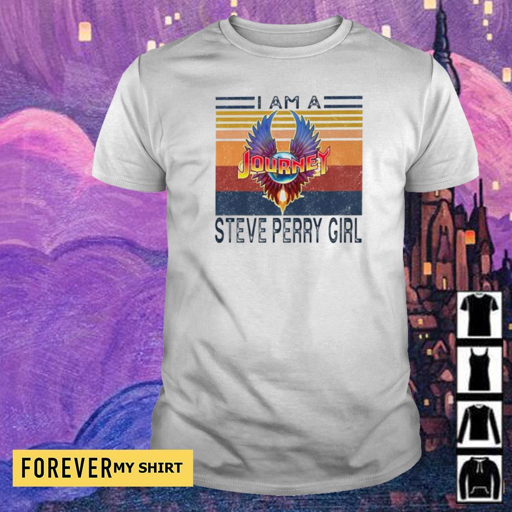 I am a Journey Steve Perry Girl vintage shirt