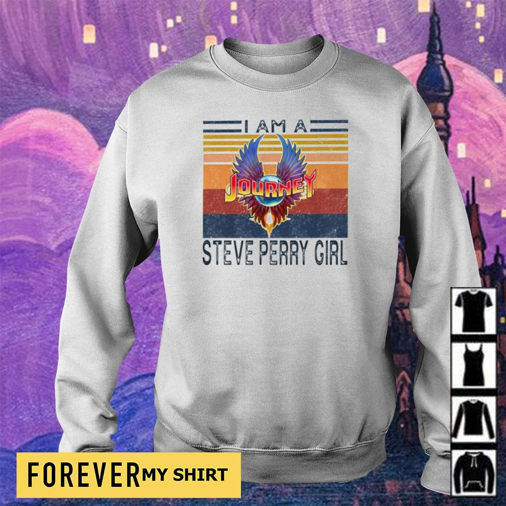 I am a Journey Steve Perry Girl vintage s sweater